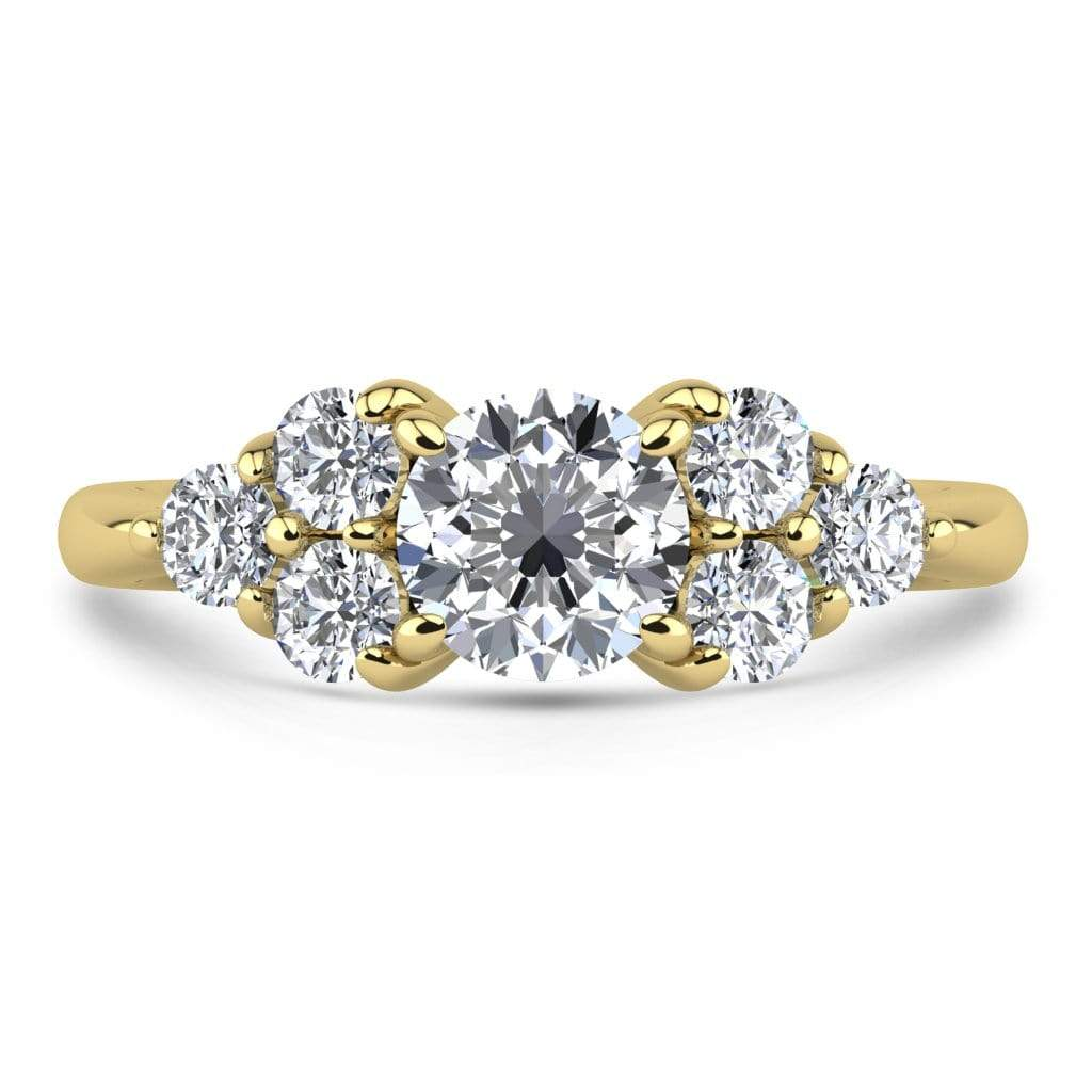 Ring 1.00 Carat / 18K Yellow Gold Roxy | VS Lab Grown Diamond Engagement Ring