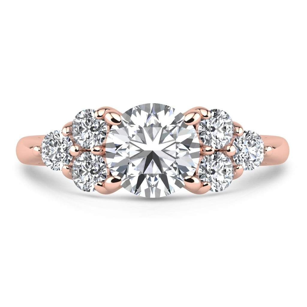 Ring 1.50 Carat / 14K Rose Gold Roxy | VS Lab Grown Diamond Engagement Ring