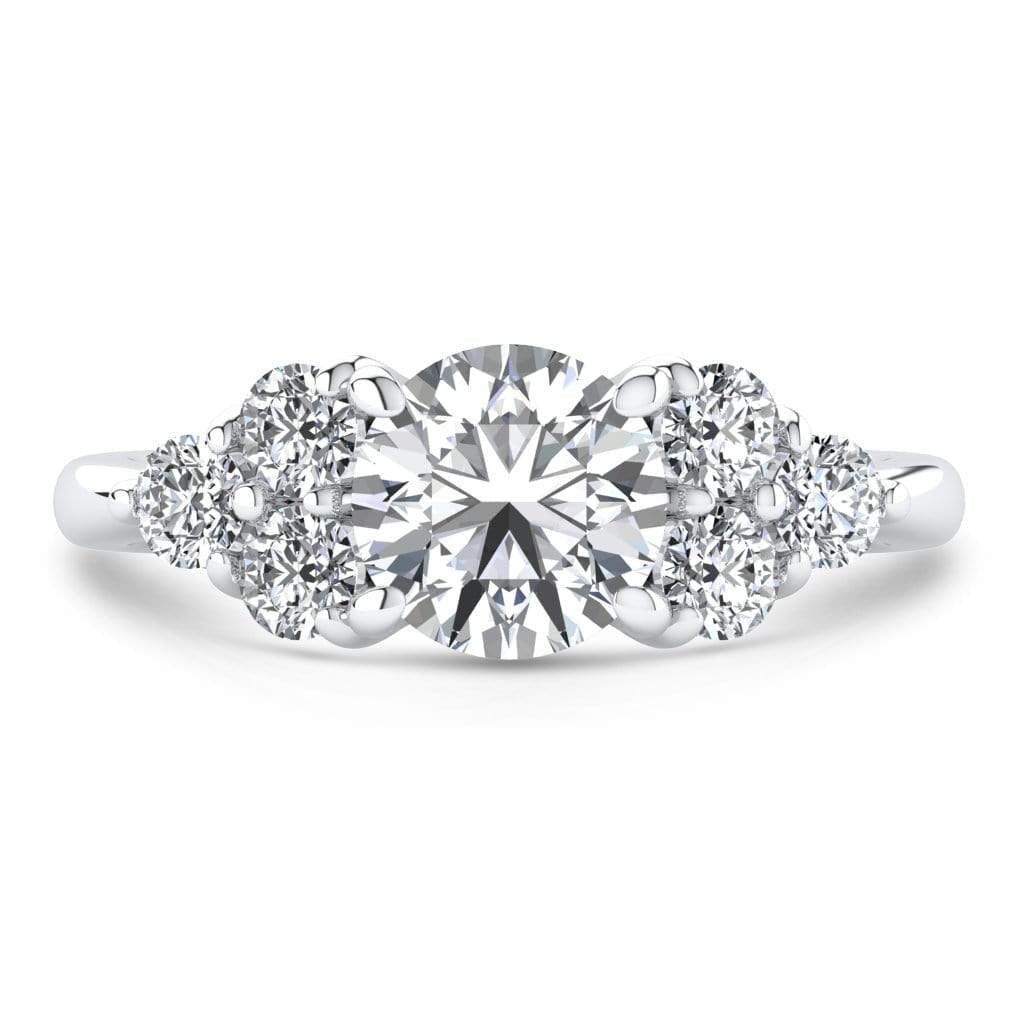 Ring 1.50 Carat / 18K White Gold Roxy | VS Lab Grown Diamond Engagement Ring