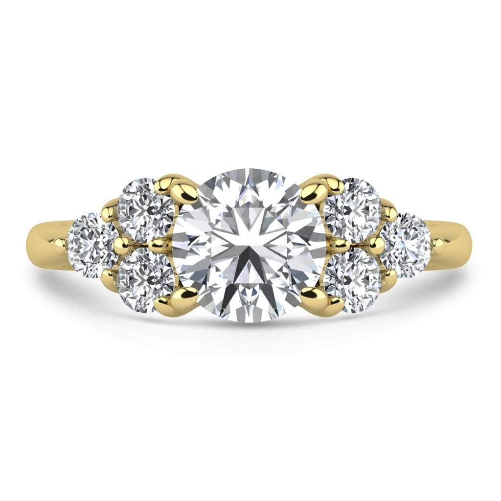 Ring 1.50 Carat / 18K Yellow Gold Roxy | VS Lab Grown Diamond Engagement Ring
