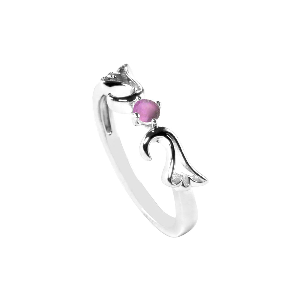 Ring Synthetic Alexandrite Guardian Angel Ring- June