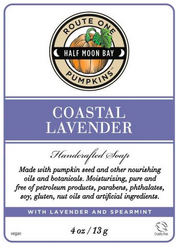Coastal Lavender Handcrafted Soap by Route One Pumpkins