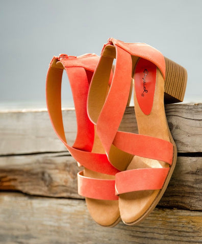 Daria Strappy Wedge