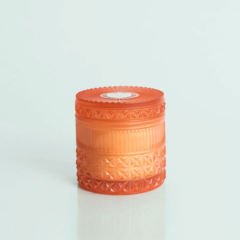 Pomegranate Citrus Faceted Jar - 11oz