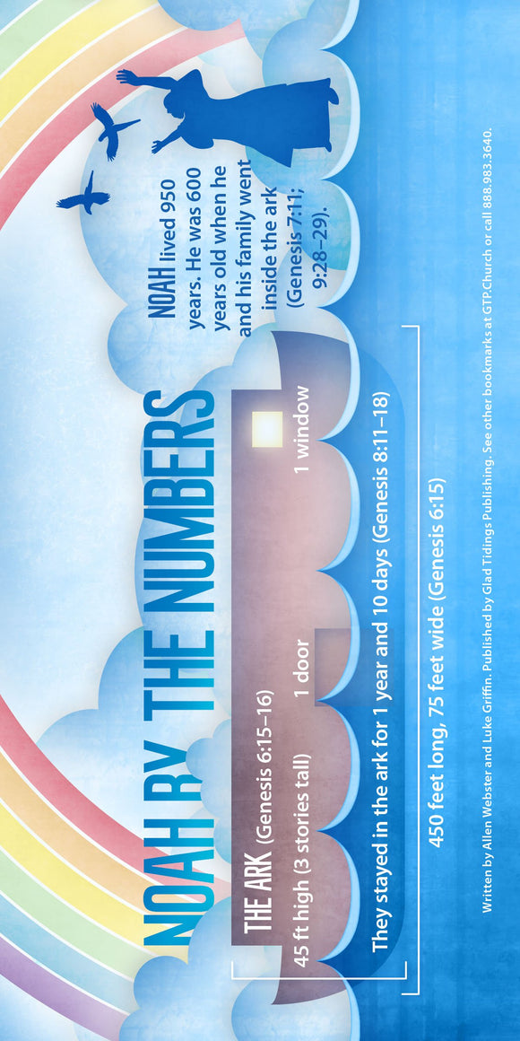 Noah By the Numbers (Pack of 10) - Glad Tidings Publishing