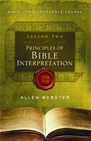 Lesson 2: Principles of Bible Interpretation (Pack of 25) - Glad Tidings Publishing