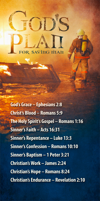 God's Plan for Saving Man (Rescue Design) (Pack of 10) - Glad Tidings Publishing