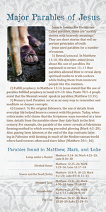 Major Parables of Jesus (Pack of 10) - Glad Tidings Publishing