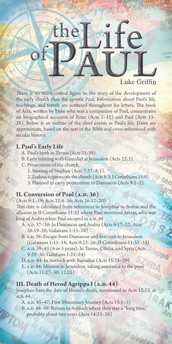 The Life of Paul (Pack of 10) - Glad Tidings Publishing