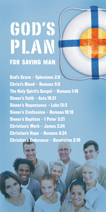 God's Plan for Saving Man (Pack of 10) - Glad Tidings Publishing