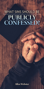 What Sins Should Be Publicly Confessed? (Pack of 5) - Glad Tidings Publishing