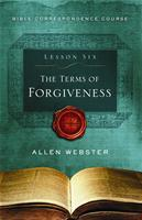 Lesson 6: The Terms of Forgiveness (Pack of 25) - Glad Tidings Publishing