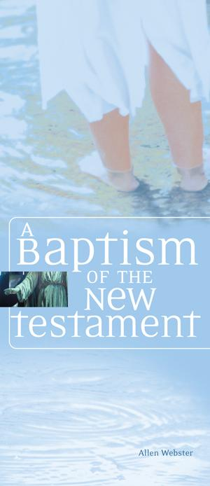 A Baptism of the New Testament (Pack of 10)