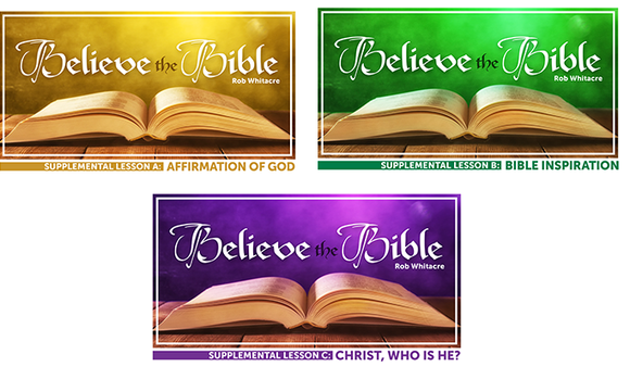 Believe the Bible Set [PREORDER] - Glad Tidings Publishing