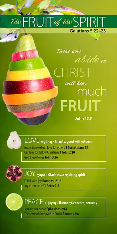 The Fruit of the Spirit (Pack of 10) - Glad Tidings Publishing
