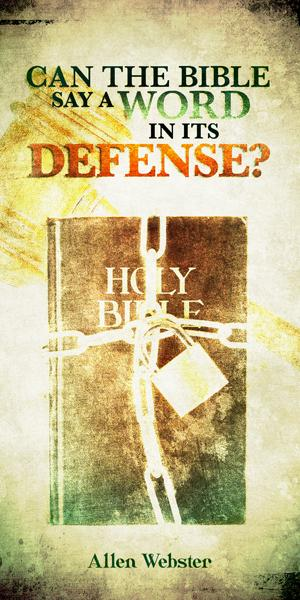 Can the Bible Say a Word in Its Defense (Pack of 5) - Glad Tidings Publishing