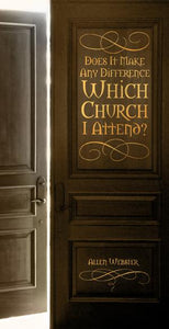 Does it Make Any Difference Which Church I Attend? (Pack of 5) - Glad Tidings Publishing