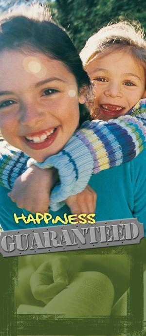 Happiness Guaranteed (Pack of 10) - Glad Tidings Publishing