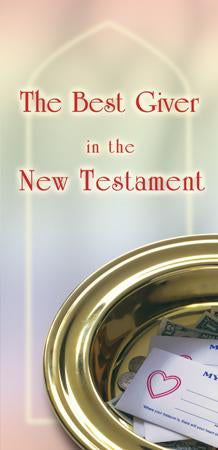 The Best Giver in the New Testament (Pack of 5) - Glad Tidings Publishing