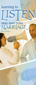 Learning to Listen May Save Your Marriage (Pack of 10) - Glad Tidings Publishing