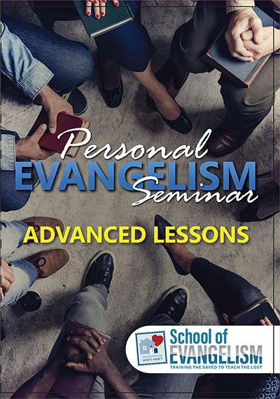 Advanced Personal Evangelism - Rob Whitacre - Glad Tidings Publishing