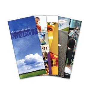 Evangelism Pack of 50 Tracts - Glad Tidings Publishing