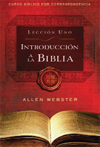 SPANISH Lesson 1: Introduction to the Bible (Pack of 25) - Glad Tidings Publishing