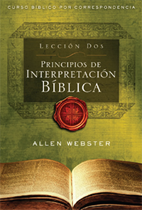 SPANISH Lesson 2: Principles of Bible Interpretation (Pack of 25) - Glad Tidings Publishing