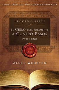 SPANISH Lesson 7: Heaven is Only Four Steps Away: Part 1 (Pack of 25) - Glad Tidings Publishing
