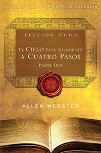 SPANISH Lesson 8: Heaven is Only Four Steps Away: Part 2 (Pack of 25) - Glad Tidings Publishing