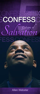 5 Steps of Salvation: Confess (Pack of 10) - Glad Tidings Publishing