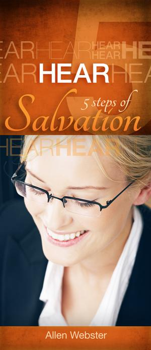 5 Steps of Salvation: Hear (Pack of 10) - Glad Tidings Publishing