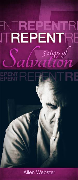 5 Steps of Salvation: Repent (Pack of 10)