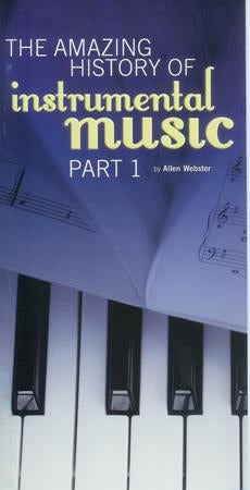 The Amazing History of Instrumental Music: Part 1 (Pack of 5)