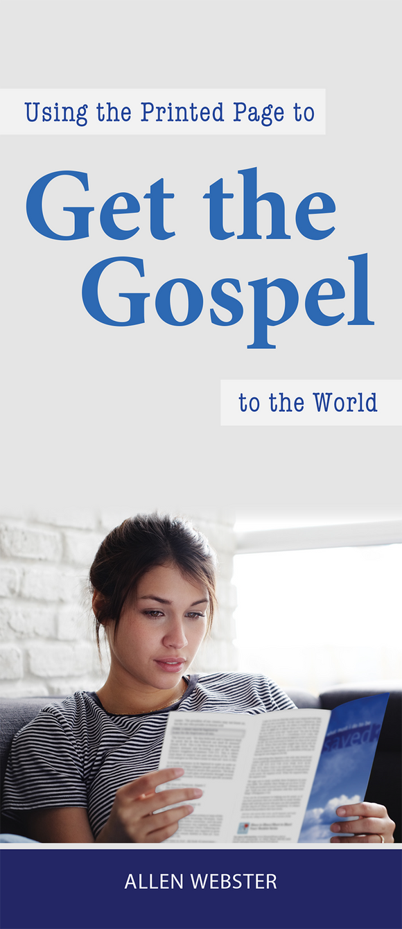 Using the Printed Page to Get the Gospel to the World (Pack of 10) - Glad Tidings Publishing