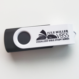 SPANISH Edition VBSS All Five Lessons on One USB - Jule Miller Visualized Bible Study Series - Glad Tidings Publishing