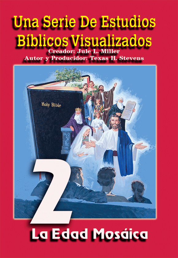 VBSS (SPANISH) Visualized Bible Study Series Disc 2 The Mosaic Age - Glad Tidings Publishing