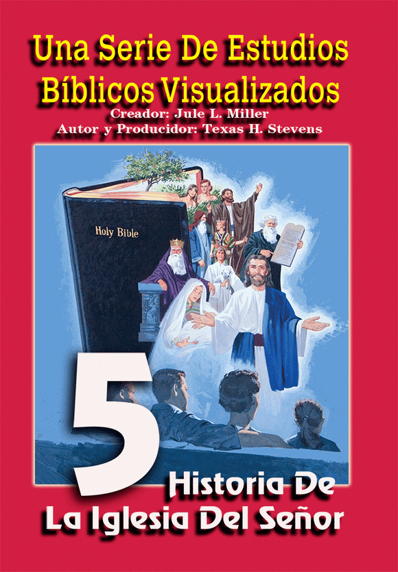 VBSS (SPANISH) Visualized Bible Study Series Disc 5 History of the Lord's Church - Glad Tidings Publishing