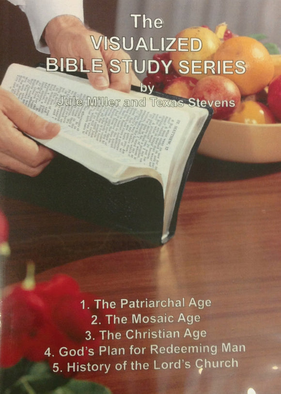 VBSS All Five Lessons on One DVD - 506DV Jule Miller Visualized Bible Study Series - Glad Tidings Publishing