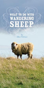 What to Do With Wandering Sheep (Pack of 5) - Glad Tidings Publishing