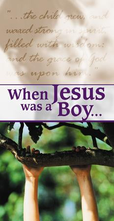When Jesus Was a Boy (Pack of 5) - Glad Tidings Publishing