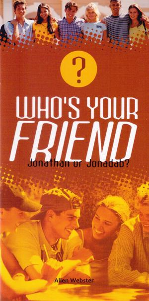 Who's Your Friend? Jonathan or Jonadab? (Pack of 5)