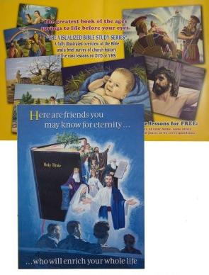 VBSS Here are Friends Brochures in Packs of 100 - Glad Tidings Publishing
