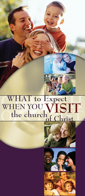 What to Expect When You Visit the Church of Christ (Pack of 10) - Glad Tidings Publishing