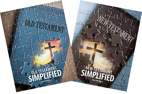 Combo Pack - Old Testament and New Testament Simplified by Rob Whitacre - Glad Tidings Publishing