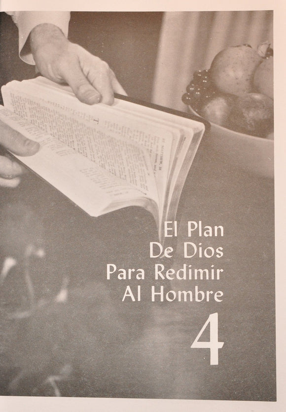 VBSS Selected Individual B&W Manuals (SPANISH) - Lesson 4 (507M) - Glad Tidings Publishing