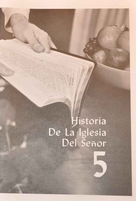 VBSS Selected Individual B&W Manuals (SPANISH) - Lesson 5 (507M) - Glad Tidings Publishing