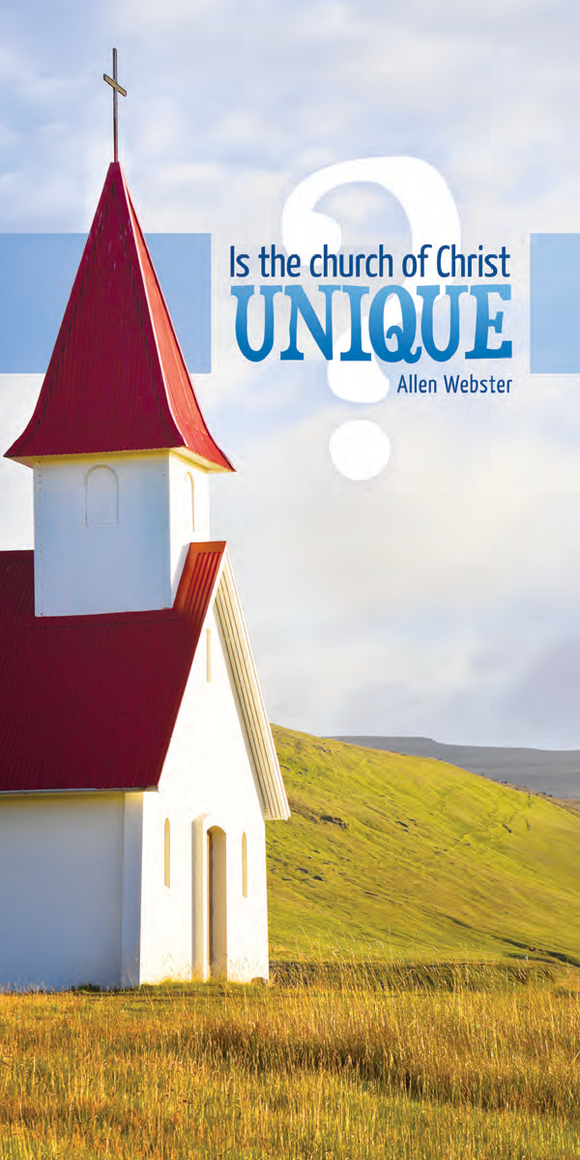 What Makes the Church of Christ Unique? (Pack of 5)