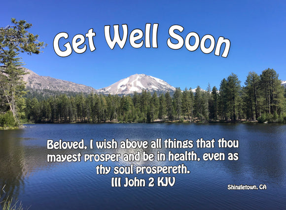 Compassion Card - Get Well (10 ct) - Glad Tidings Publishing