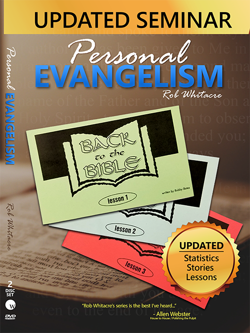 Personal Evangelism - Rob Whitacre (2 DVD Set) Updated for 2020 - Glad Tidings Publishing